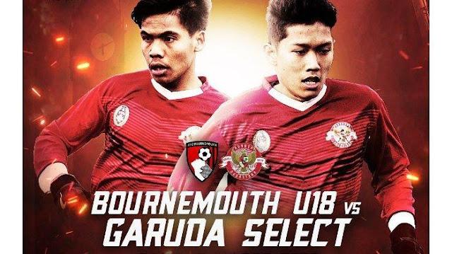 Link Streaming Garuda Select vs Bournemouth U18 di Mola TV
