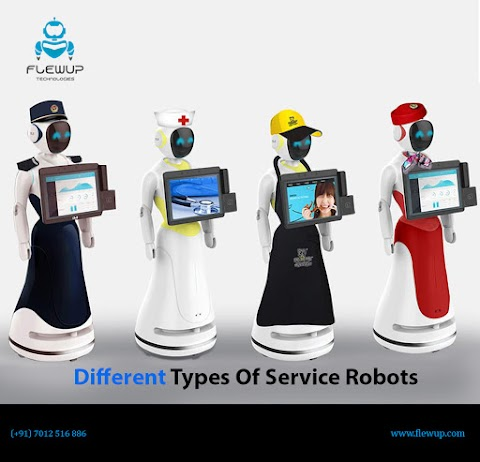 Different Types Of Service Robots