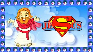 Jesus o maior super herói