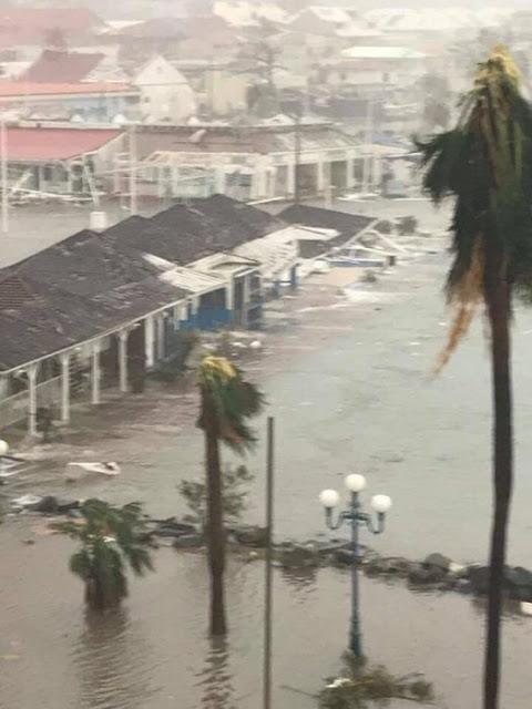 Aeropuerto y una Isla entera fueron destruidos por Irma