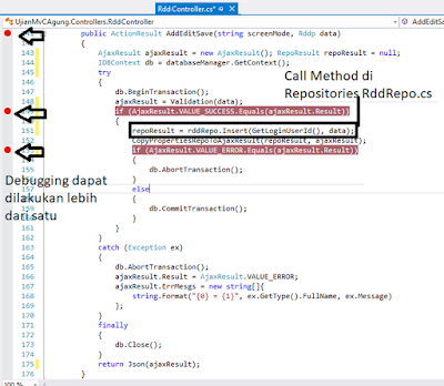 Debugging Visual Studio