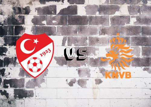 Turquía vs Países Bajos  Resumen y Partido Completo