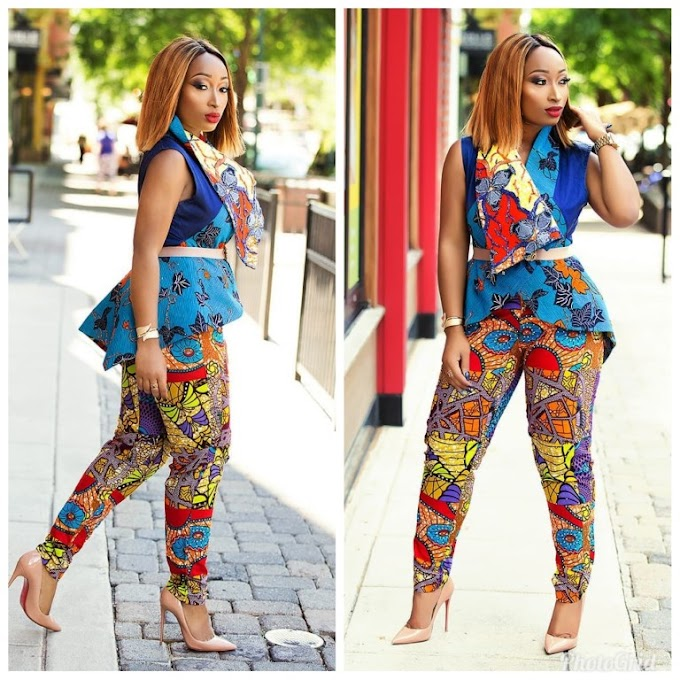 Smart Casual Ankara Outfits