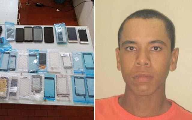 Polícia Civil recupera celulares e peças furtados de loja em Tapiramutá; suspeito é preso