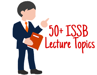 ISSB Lecture Topics
