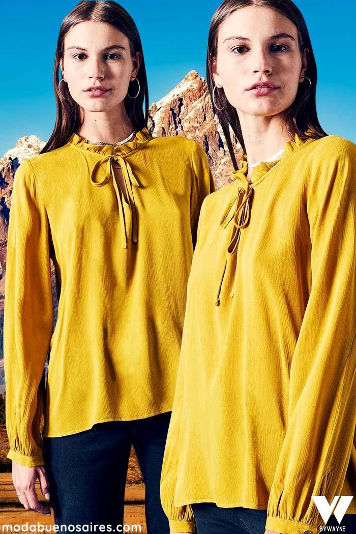 blusas de invierno 2021 moda mujer