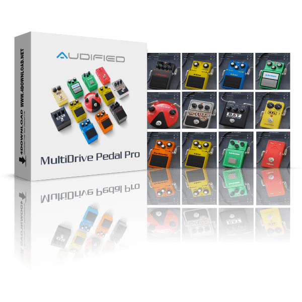 Audified MultiDrive Pedal Pro v1.0.3 Full version