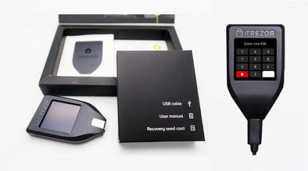 Comprar Trezor T wallet