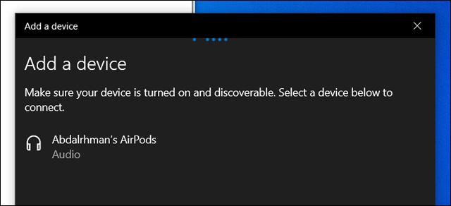 طريقة توصيل واستخدام سماعات Apple AirPods مع أجهزة الويندوز على الحاسوب