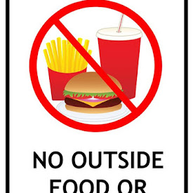 graphic about No Food or Drink Signs Printable identify Printable \