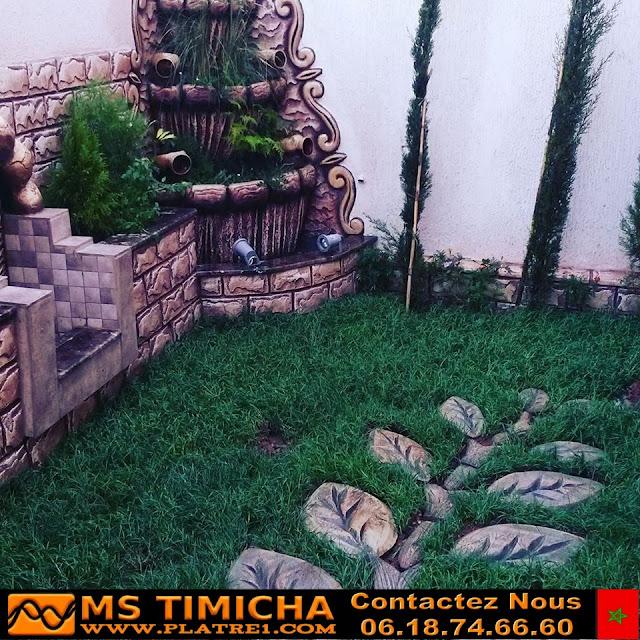 Decoration jardins et cascade
