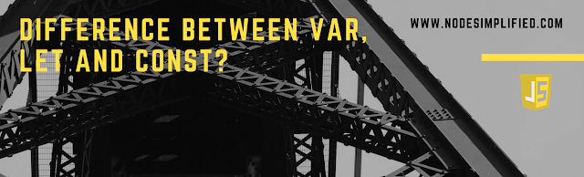 Difference Between var, let, and const Keywords in