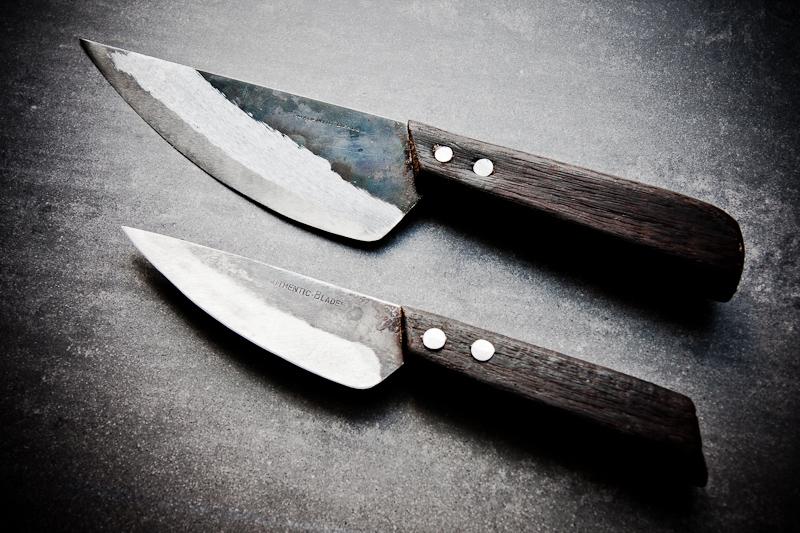 Handgeschmiedete Messer Aus