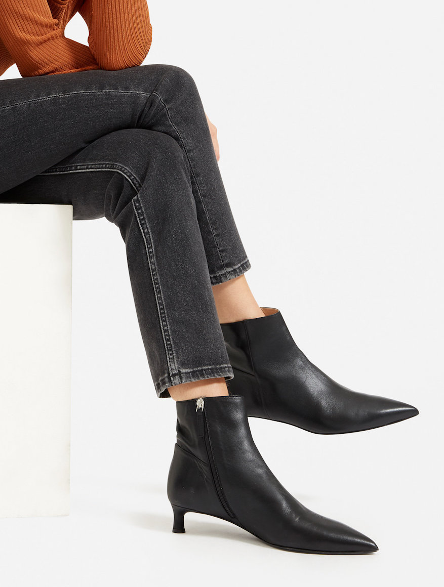 New Everlane Shoes — The Editor Boot in Black