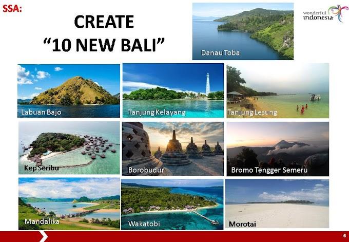 Indonesia dan Program 10 Bali Baru