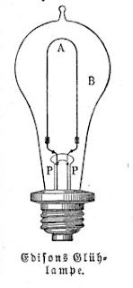 Edisons Glühlampe