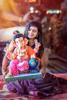 Newest Pose With Bappa