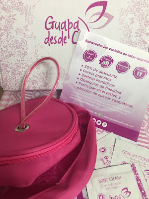 guapadesdecasa, guapa desde casa, beauty, belleza, beauty box, box beauty, box, caja mensual, caja de belleza, linea facial, agua micelar, expert cream, actie serum, gold eye contour, pearl peeling, comfort mask, dailybox, weeklybox,