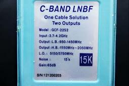 LNB C BAND Extendet 5750