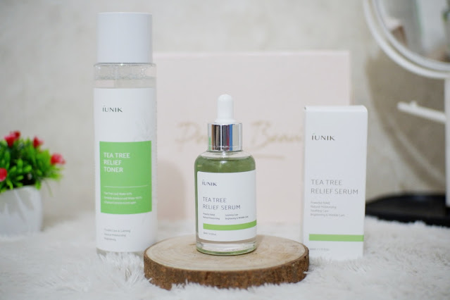 Review Iunik Tea Tree Relief Toner dan Serum