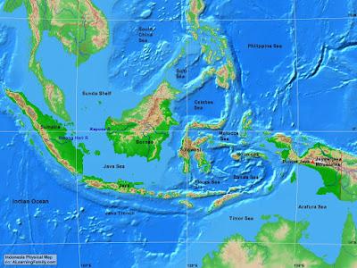 Kondisi Geografi Indonesia