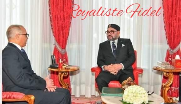"""الملك محمد السادس نصره الله  يترأس جلسة عمل حول مواجهة انتشار فيروس """"كورونا"""""""