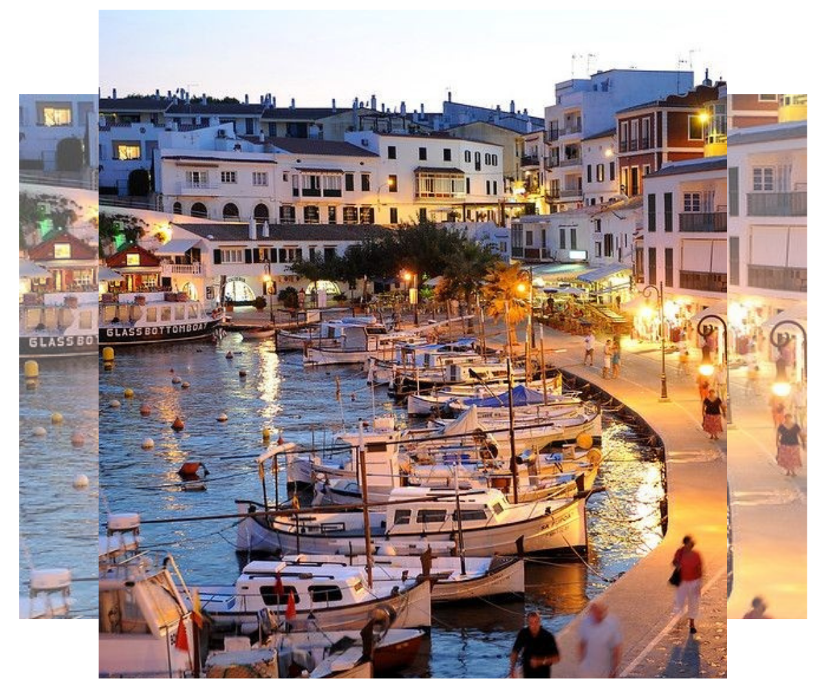 Menorca. Puerto de Fornells