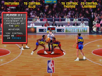 NBA JAM-街機大型機台電玩,90年代超受歡迎的籃球運動遊戲!