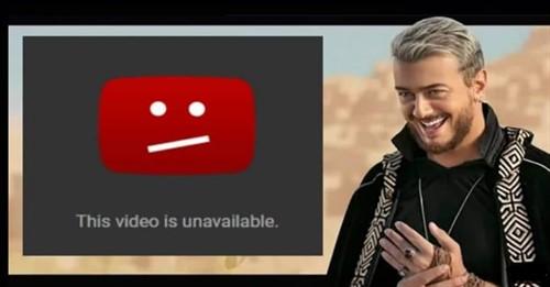 """اختفاء اغنية """" سلام """" ل سعد المجرد من اليوتيوب بسبب الحقوق"""