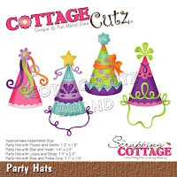http://www.scrappingcottage.com/cottagecutzpartyhats.aspx