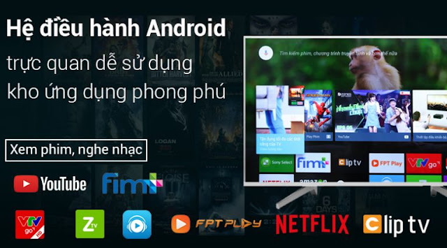 Android Tivi Sony 4K 75 inch KD-75X8500F