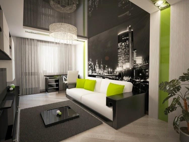 pequeña sala moderna
