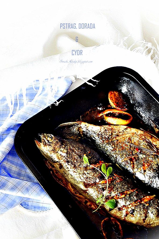 Ryba pieczona z cydrem