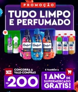 Cadastrar Tudo Limpo e Perfumado Promoção 2021