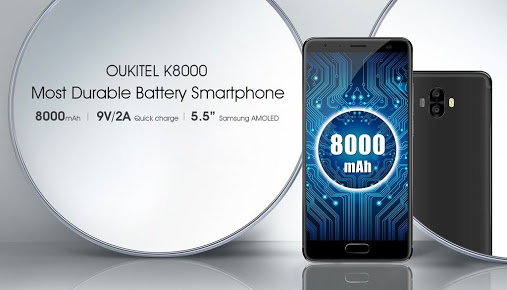 Oukitel k8000 specification and price where to buy