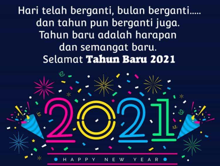 kata ucapan selamat tahun baru 2021