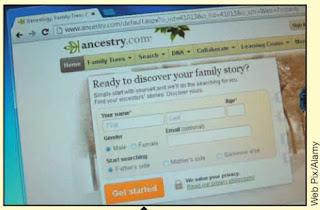 Figure 12 Ancestry.com