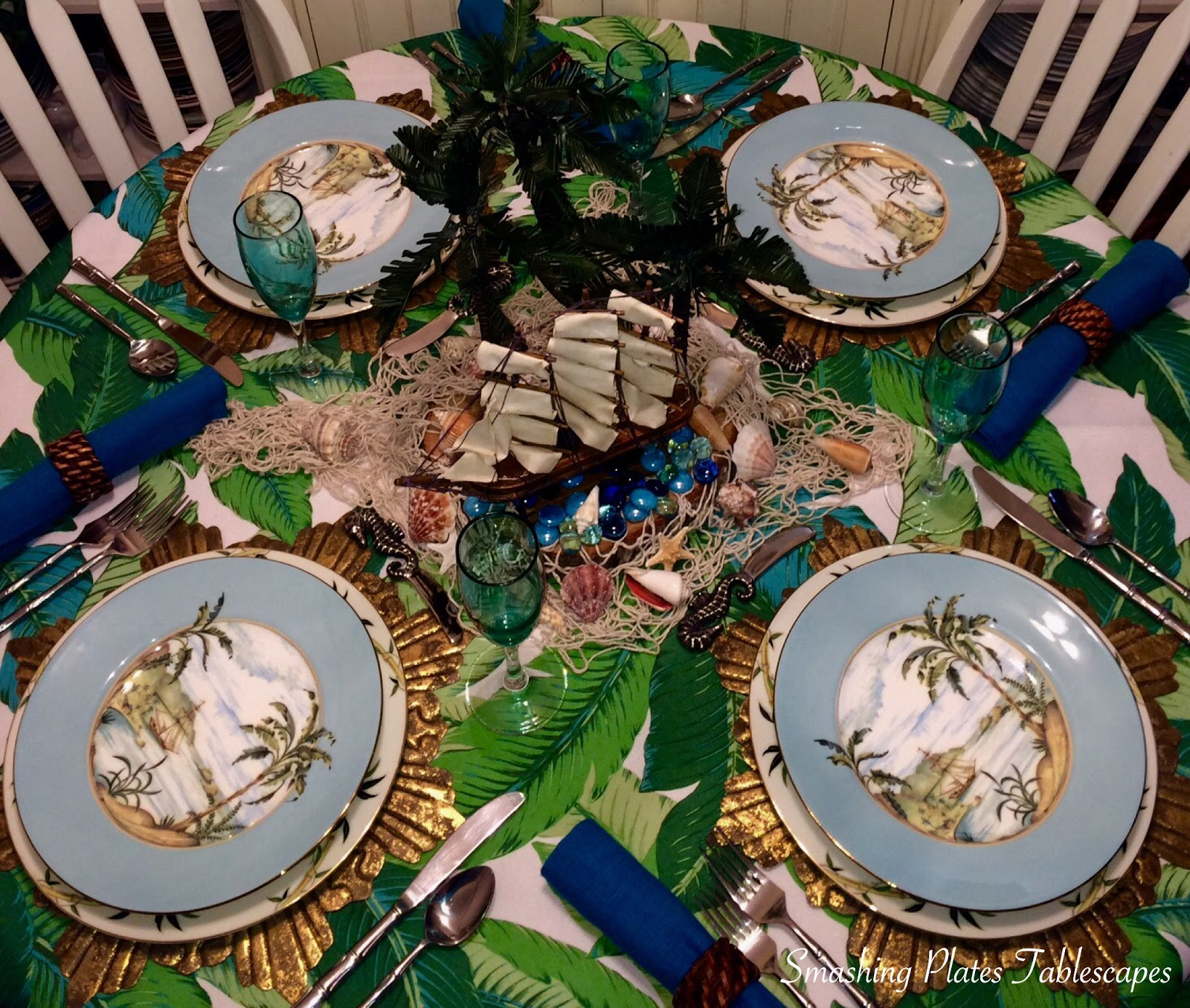 The Lenox Colonial Tradewind salad plates are currently on sale at Macy\u0027s. I would love to own this entire china collection. It\u0027s stunning in person. & Smashing Plates Tablescapes: Colonial Tradewinds