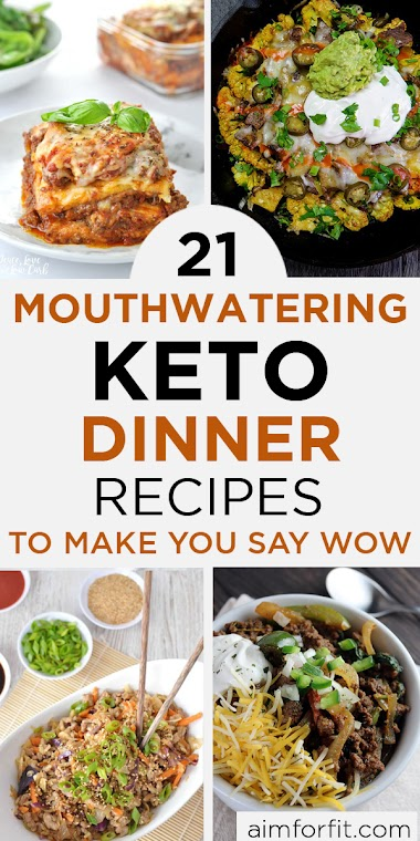 Keto Dinners: 21 Keto Dinner Recipes That'll Totally Knock Your Hats Off