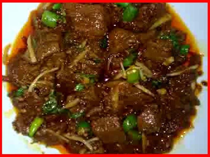 Ginger Beef Karahi Gosht Recipe Video