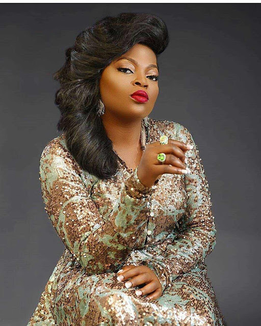 Funke Akindele breaks Silence over viral reports of giving birth to twins in London