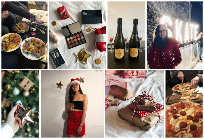 A lifestyle roundup of my week at university featuring all I've bought, watched, eaten, seen and been up to. Featuring our house Christmas meal, a giveaway and an attempt at ice skating