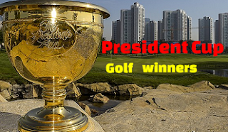 Presidents Cup golf tournament past winners, historic champions list since 1994
