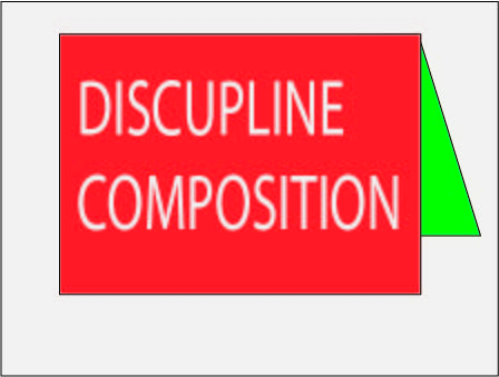 Discipline Composition for class 10 and All Student
