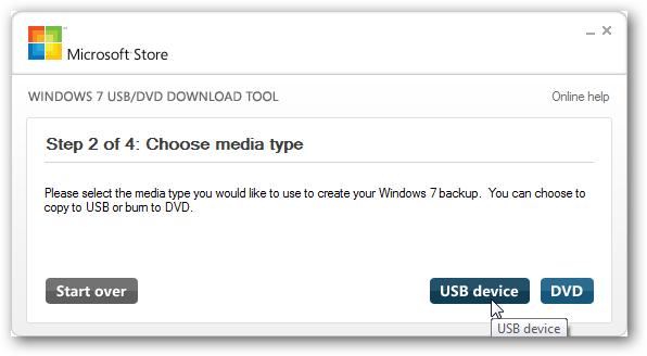 Temukan jalur file Windows ISO & klik tombol 'Next'