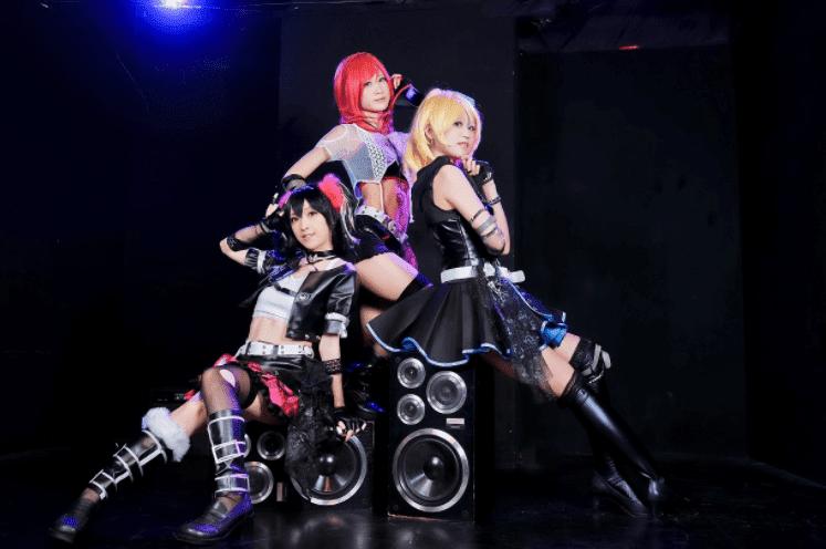 cosplay girls, ragazze asiatiche, casse, sub,