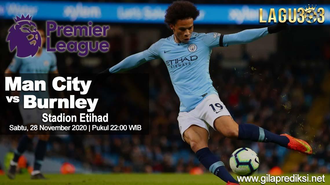Prediksi Manchester City Vs Burnley 28 November 2020 pukul 22:00 WIB