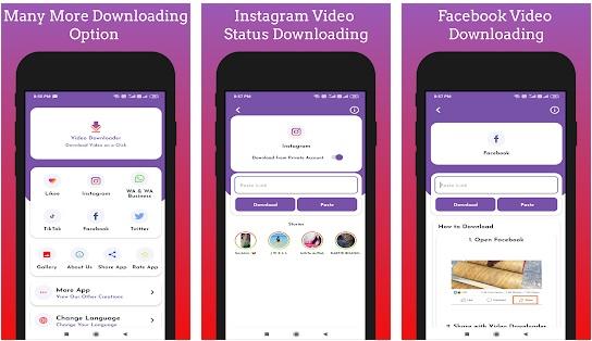 افضل تطبيق لتحميل الفيديوهات من جميع المنصات والمواقع بشكل مجاني