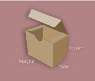 cara bikin dan menghitung ukuran kemasan produk