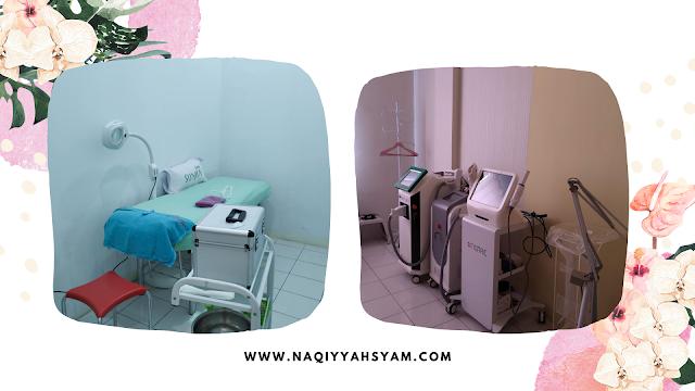 alat perawatan di Sumia Aesthetic Clinic Lampung